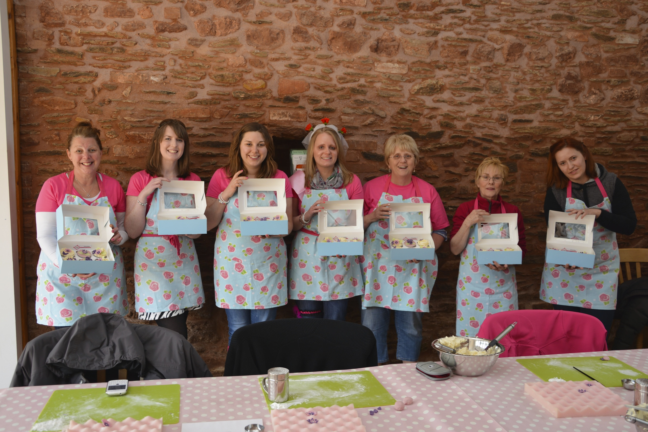 Hen Party Cupcake Decorating at Goldbrick House, Bristol