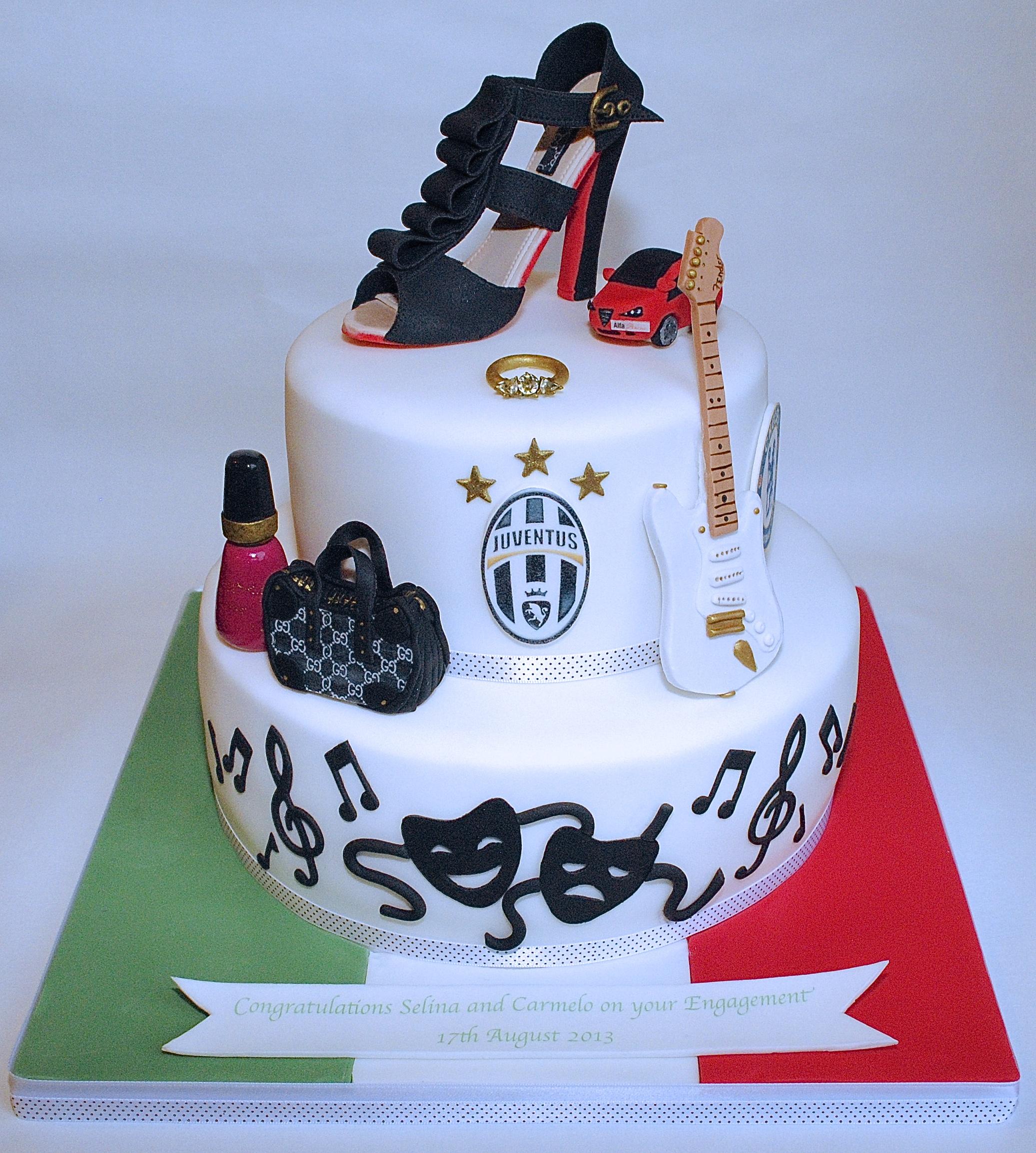 Italian Engagement Cake