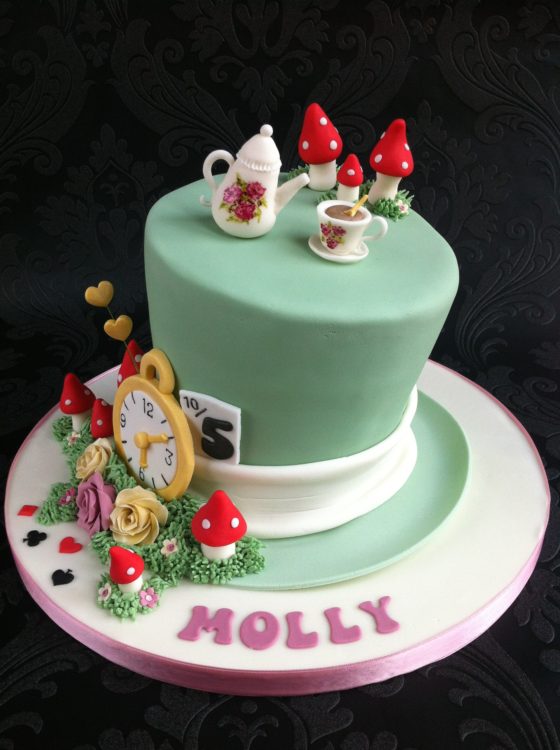 Mad Hatters Birthday Cake