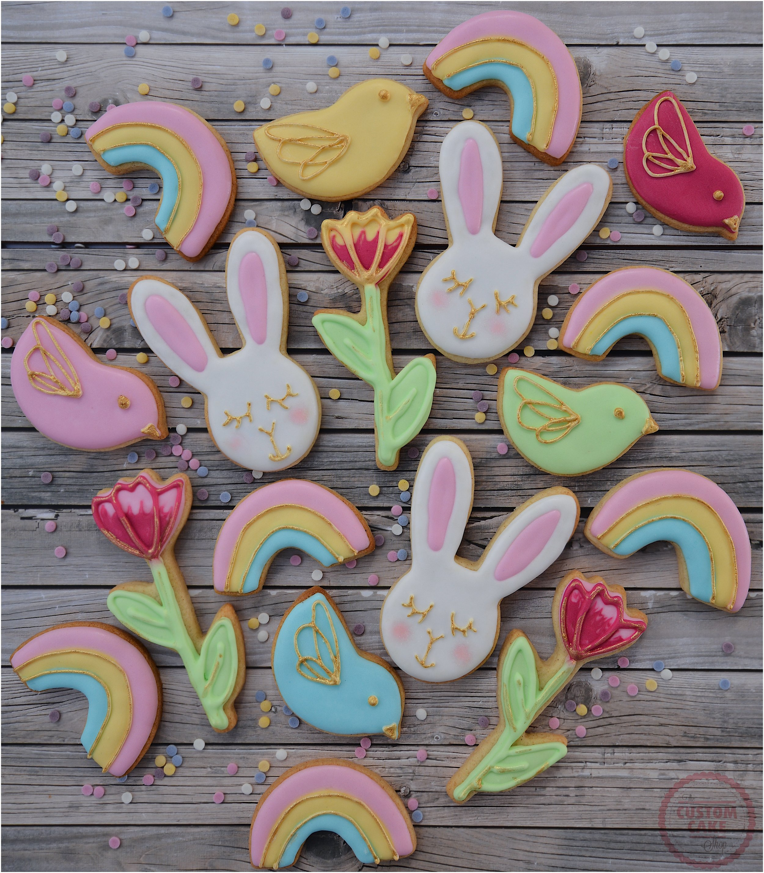 Iced Easter Biscuits