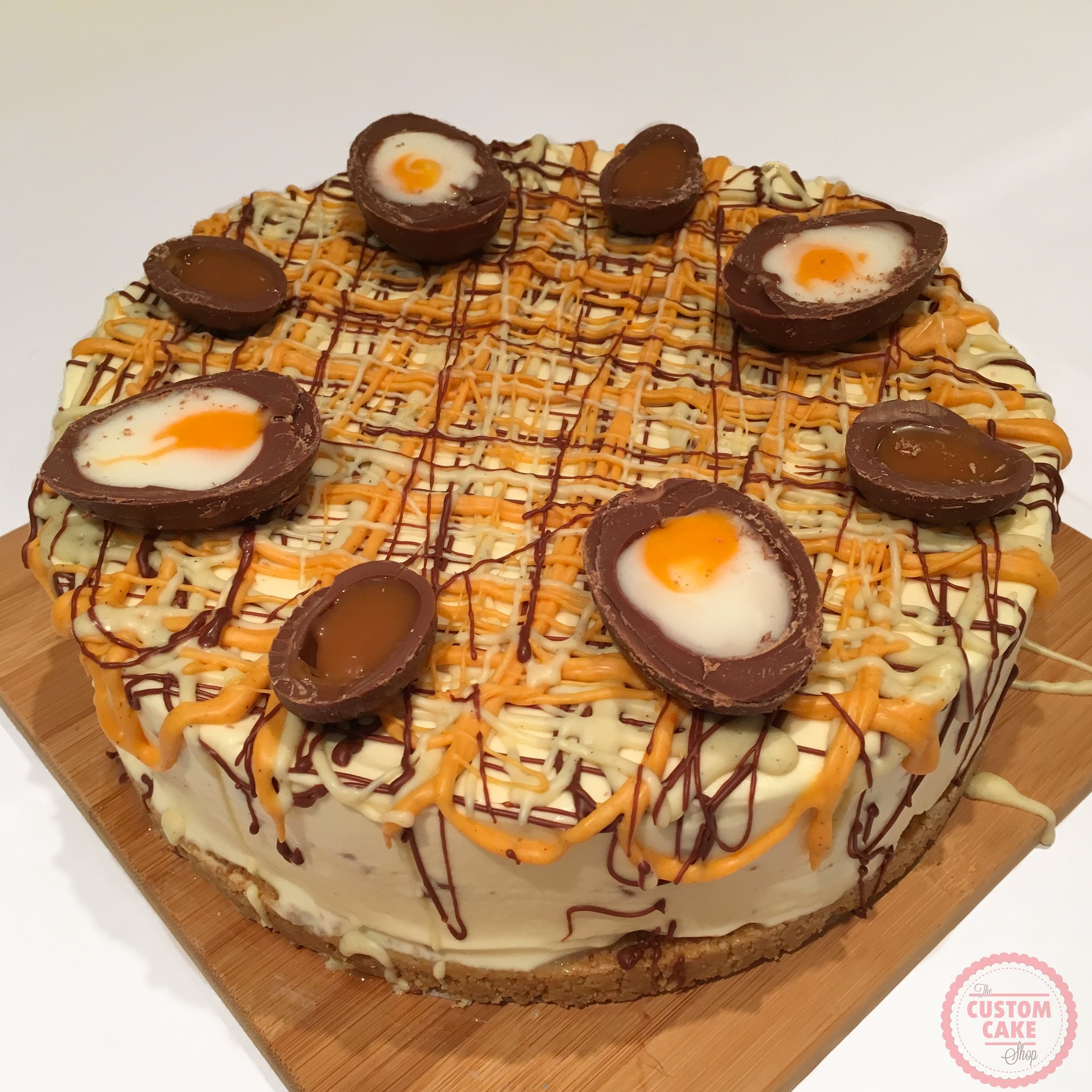 Easter Chocolate Creme Egg Cheesecake Recipe