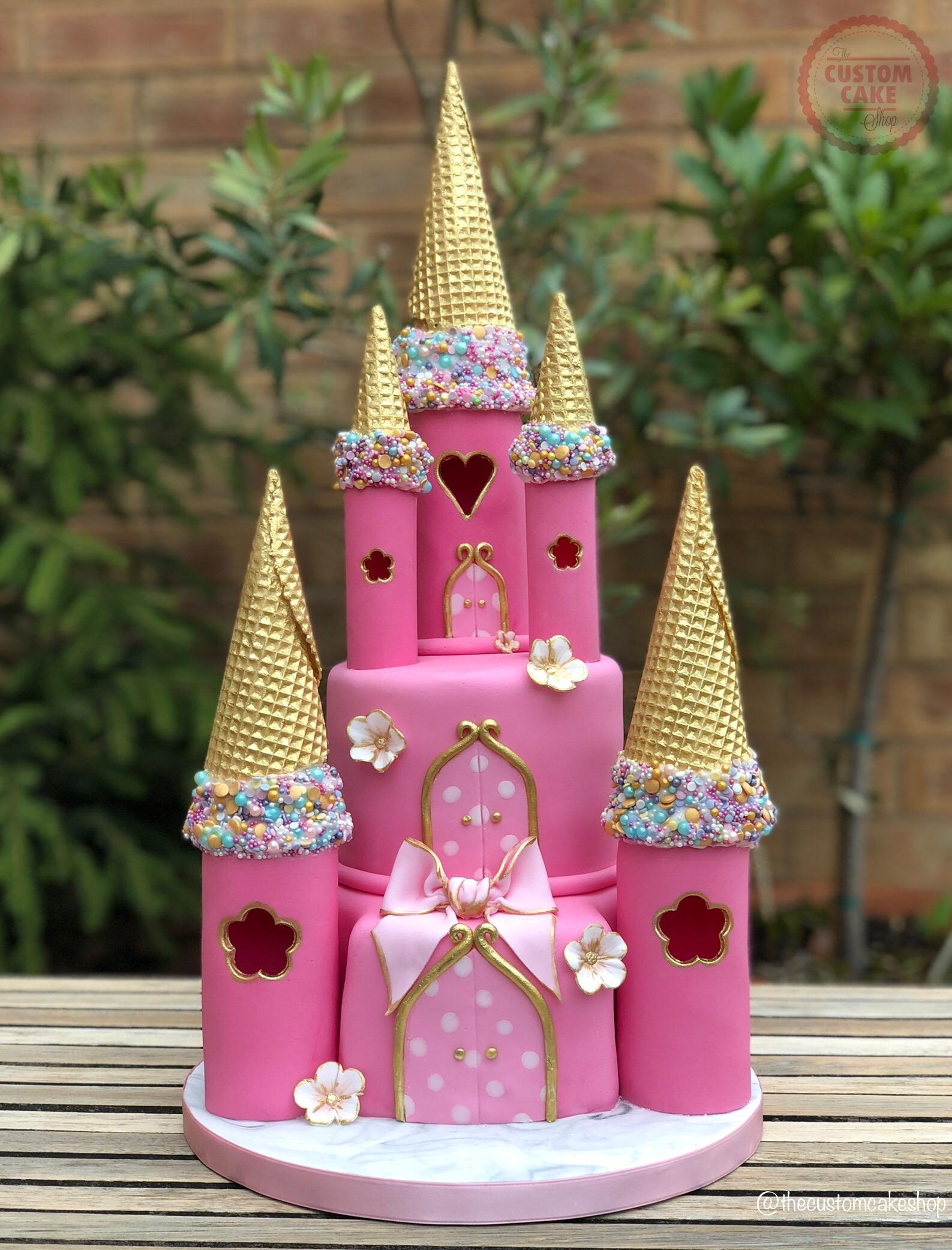 Princess Fairytale Castle Cake