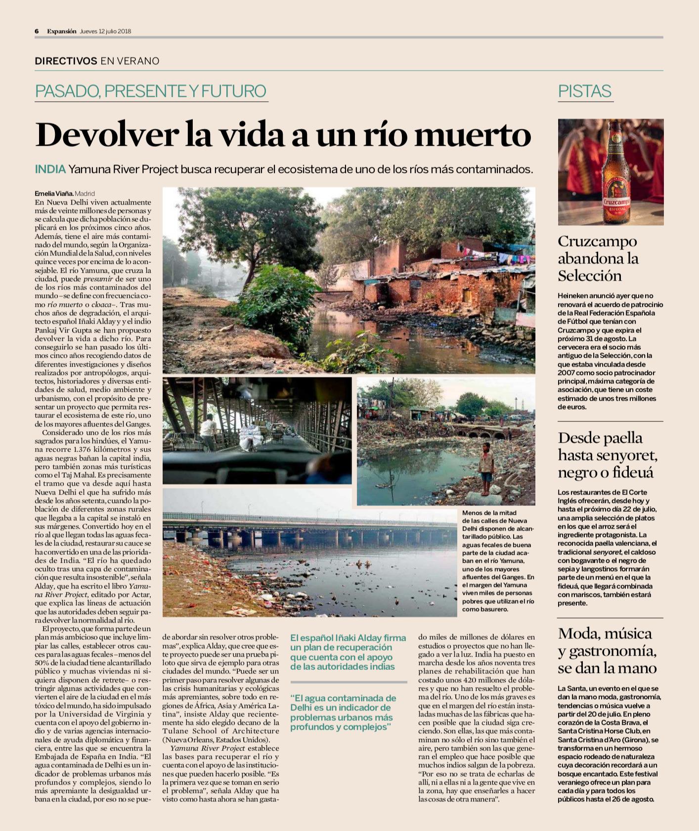 Devolver la vida a un río muerto - EXPANSIÓN