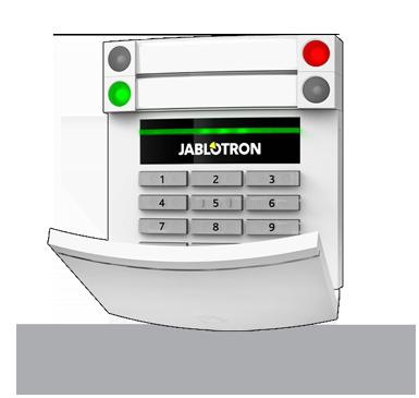 JA-153E: Draadloos code bedienpaneel met RFID en toetsenbord