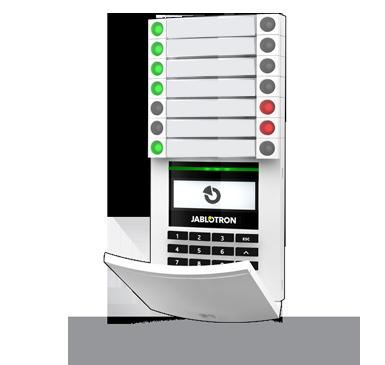 JA-154E: Draadloze toegangsmodule met LCD-scherm, codebedienpaneel en RFID-Lezer