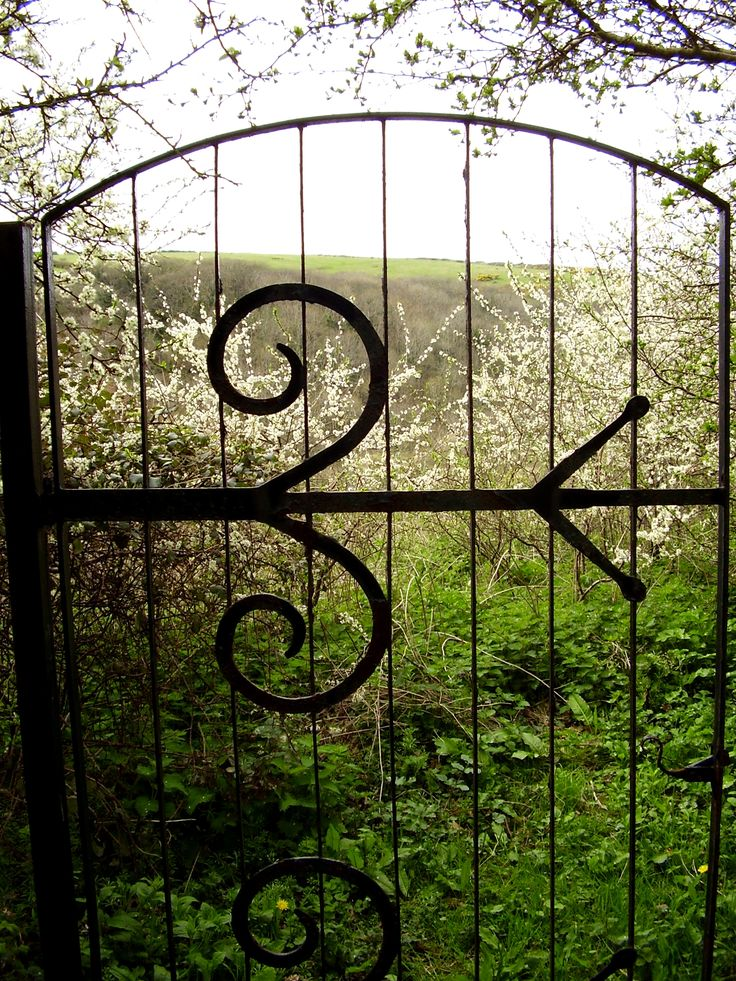 Gate at Welcombe Coastal Barn