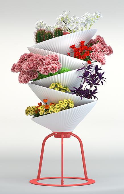 Gaia planter - by Kiba Design
