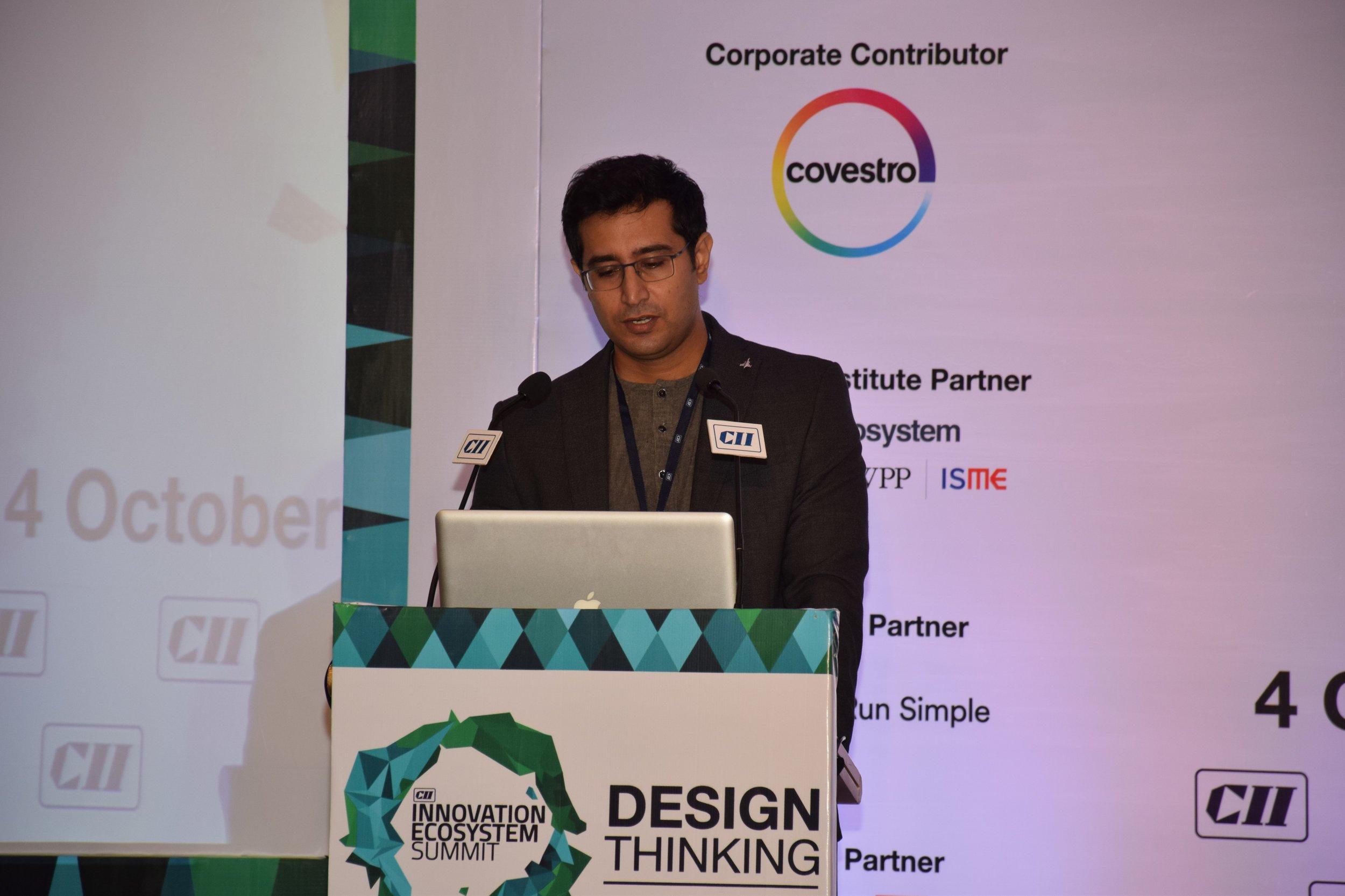 CII Innovation Ecosystem Summit 2017 speaker - Abhimanyu Nohwar - 3.jpg