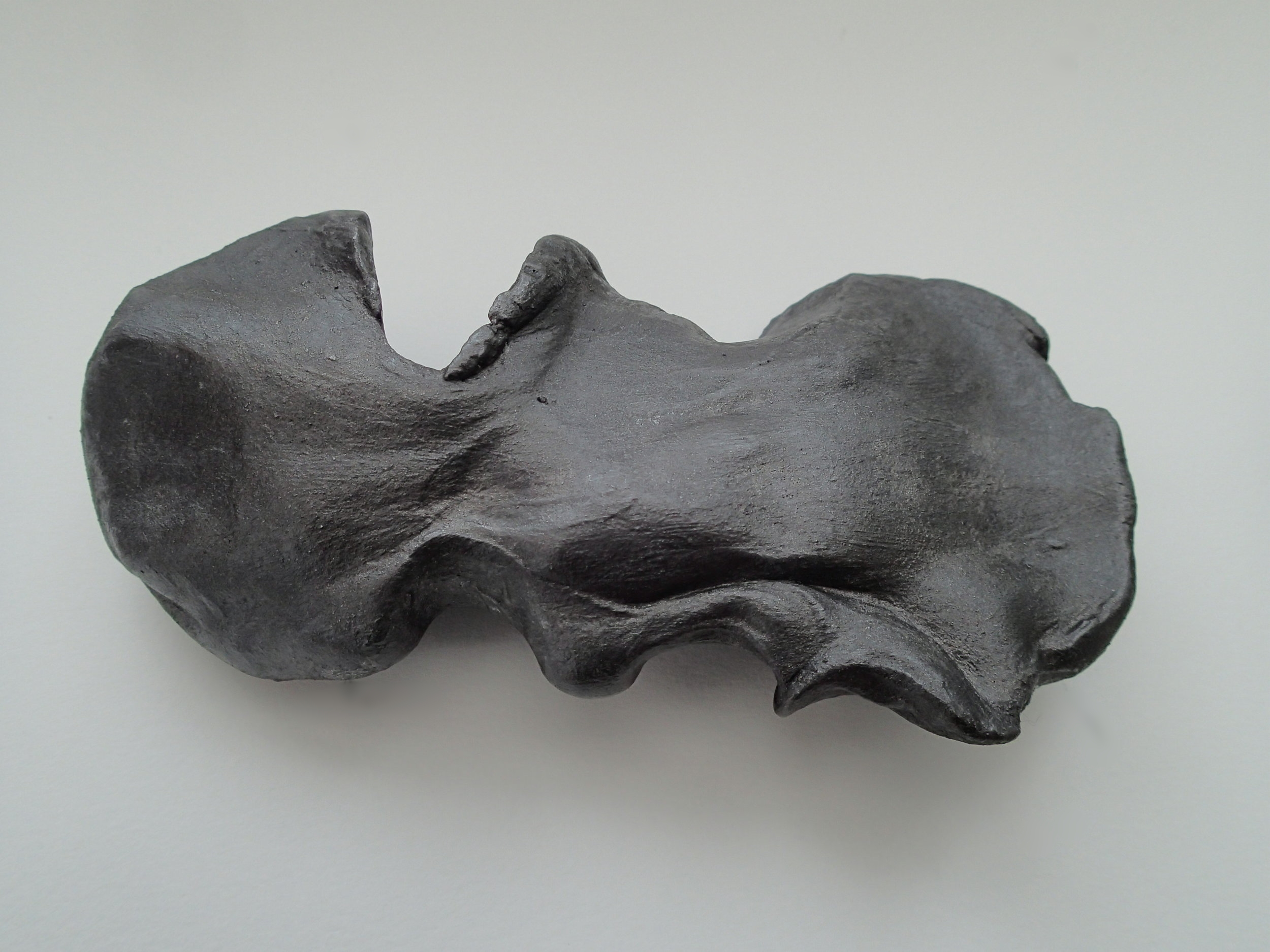 Letting Go    Unfired Clay & Graphite, part (i), 2013