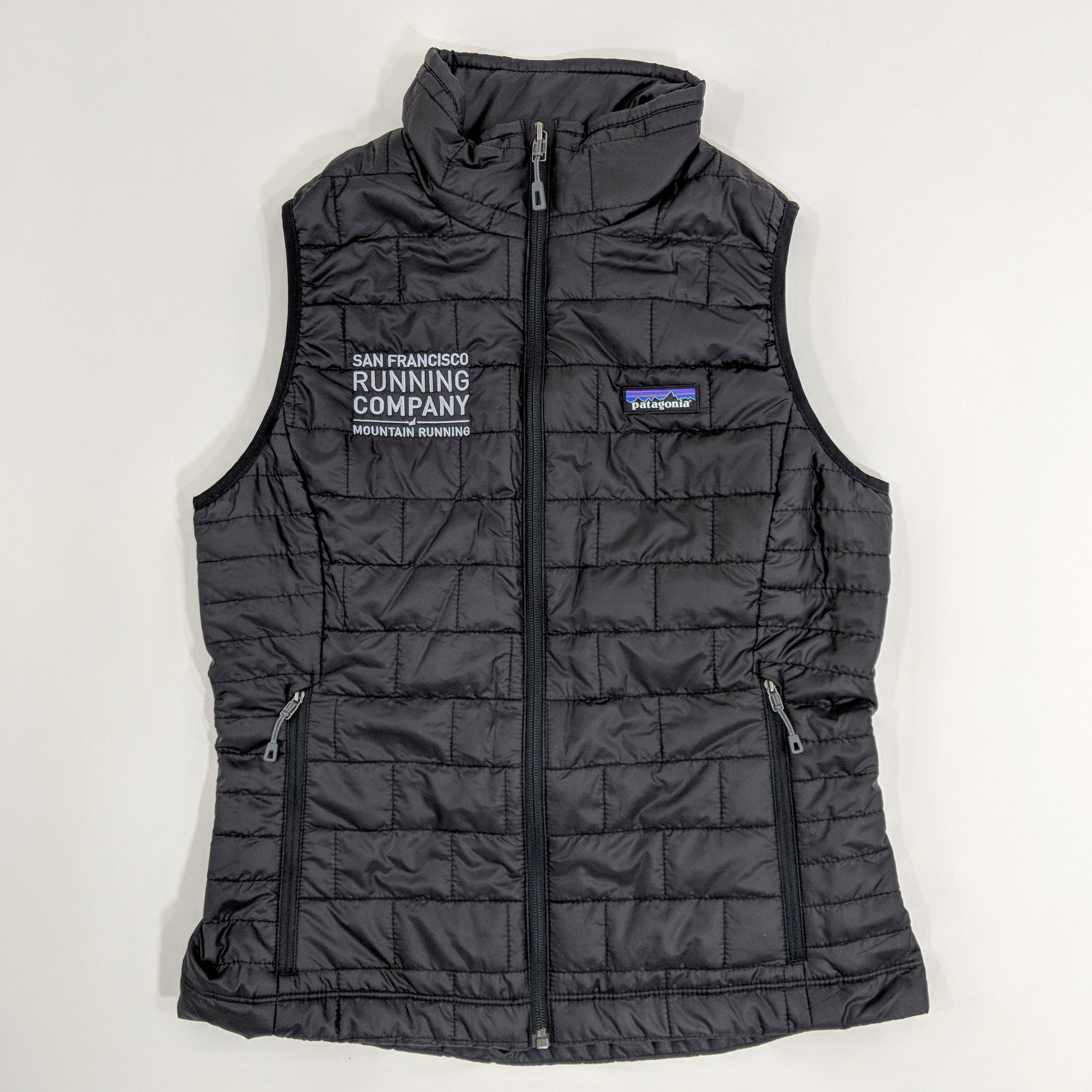 007cdb4f9 Womens Patagonia SFRC Nano Puff Vest - Black — San Francisco Running Company