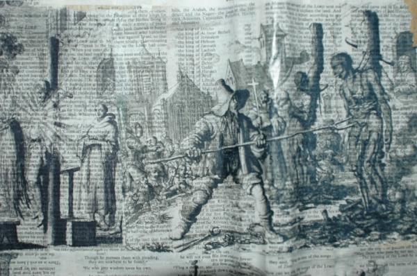 Exorcising the church (detail)