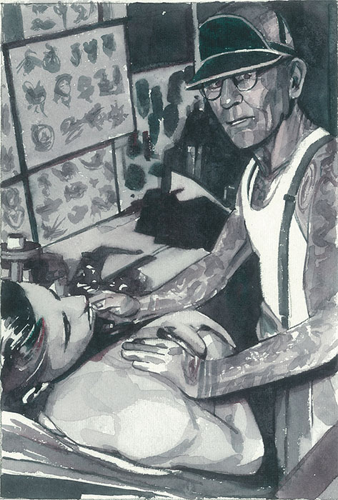 August Cap Coleman