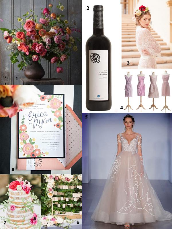 Wedding Inspiration:  Jim Hjelm 8500