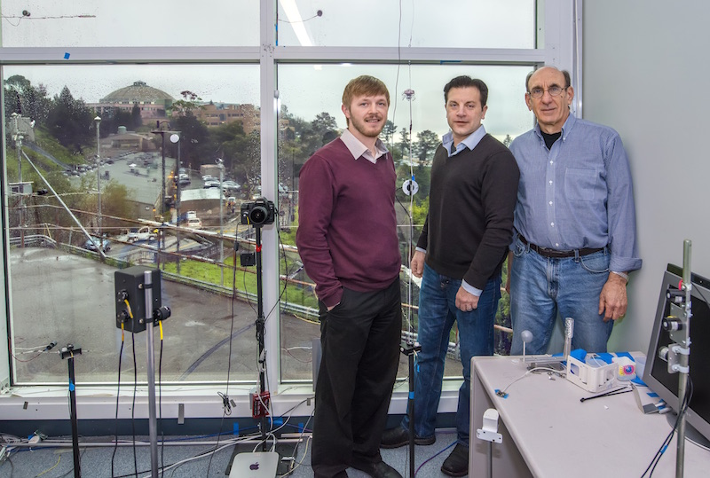 Cyclotron Road Project Lead Raymond Weitekamp (left) and his Berkeley Lab collaborators Arman Shehabi (middle) and Steven Selkowitz (right).