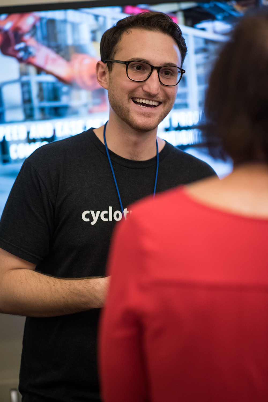 Mallinda scientist Samuel Loob at Activate 2017