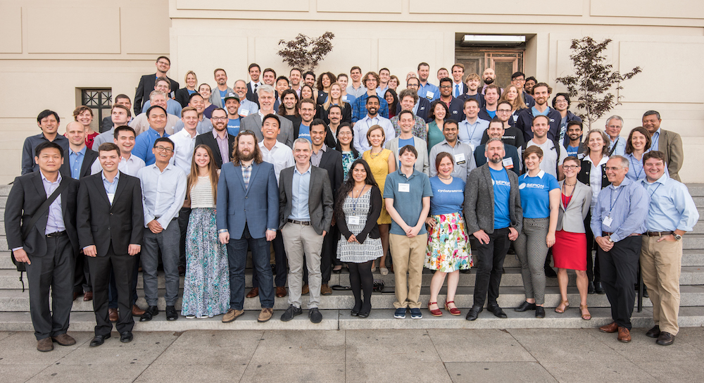 Cyclotron Road teams and staff after  Activate 2017