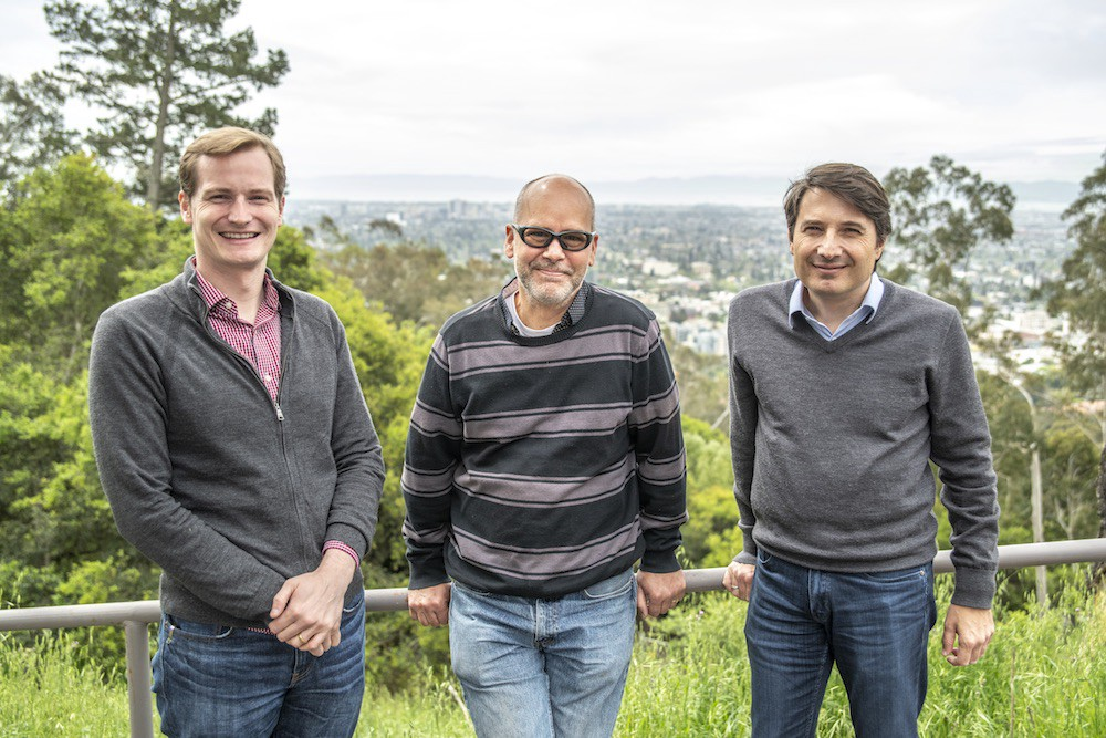 Jared Schwede, Andreas Schmid, and Jean Luc Vay at Berkeley Lab