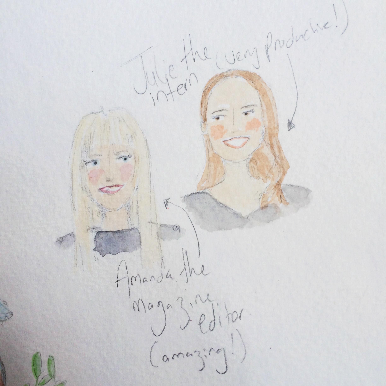 Meet Amanda and Julie.