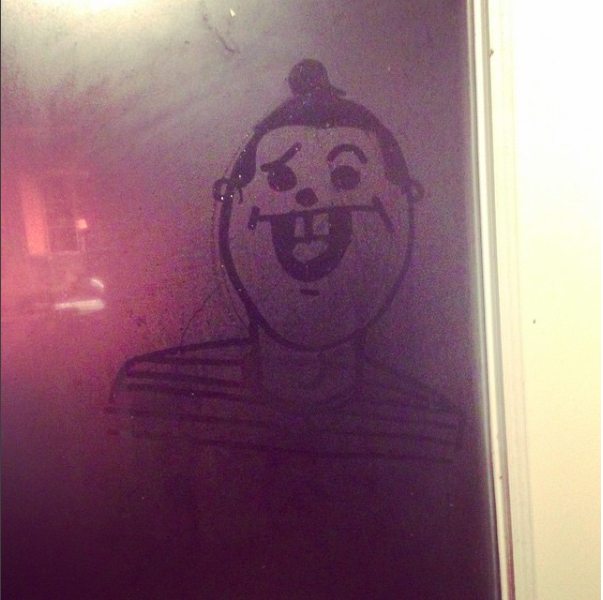 Courtesy of Cole's Instagram account  @archivesofmylife  A self portrait at 5AM