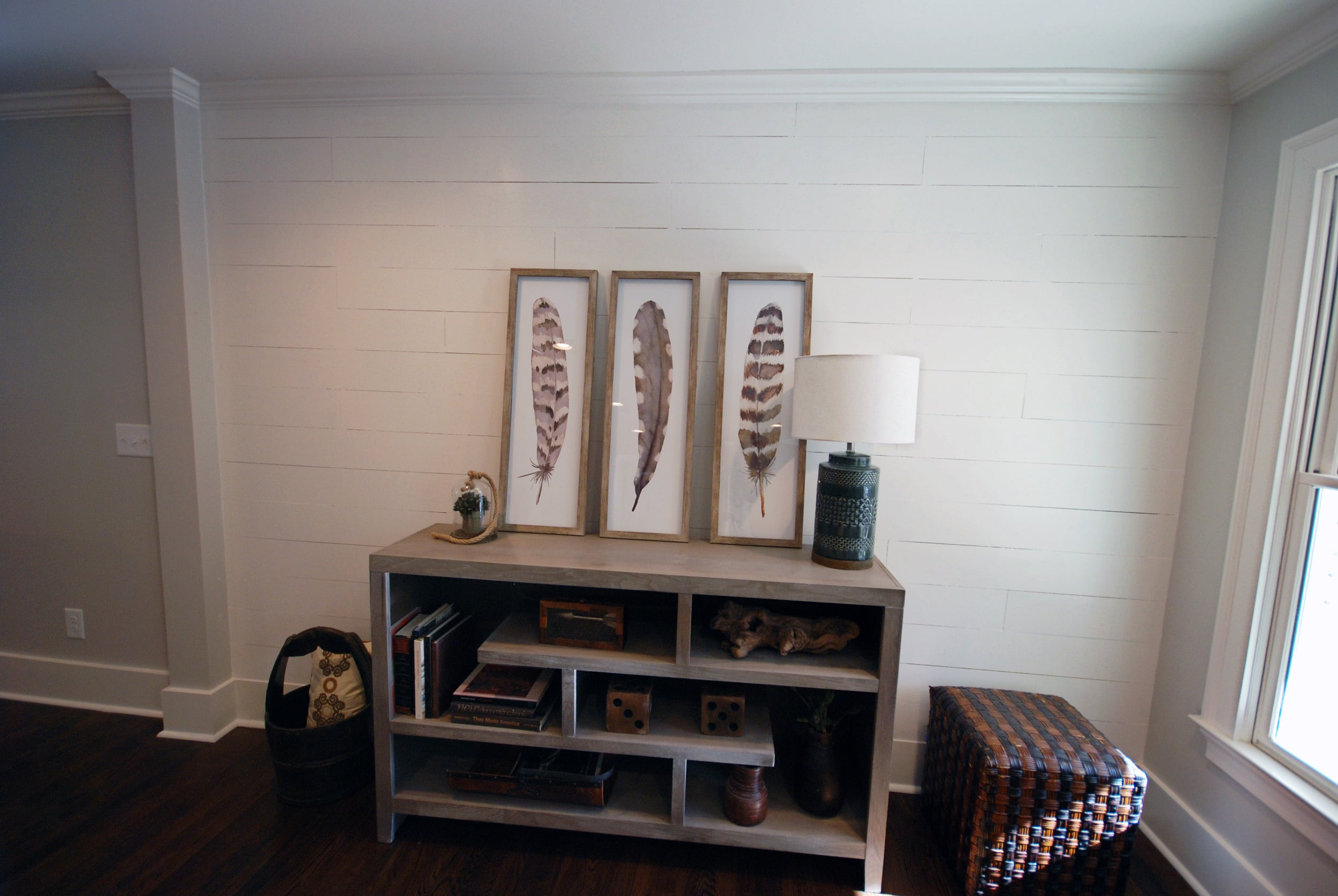 Plank Accent Walls