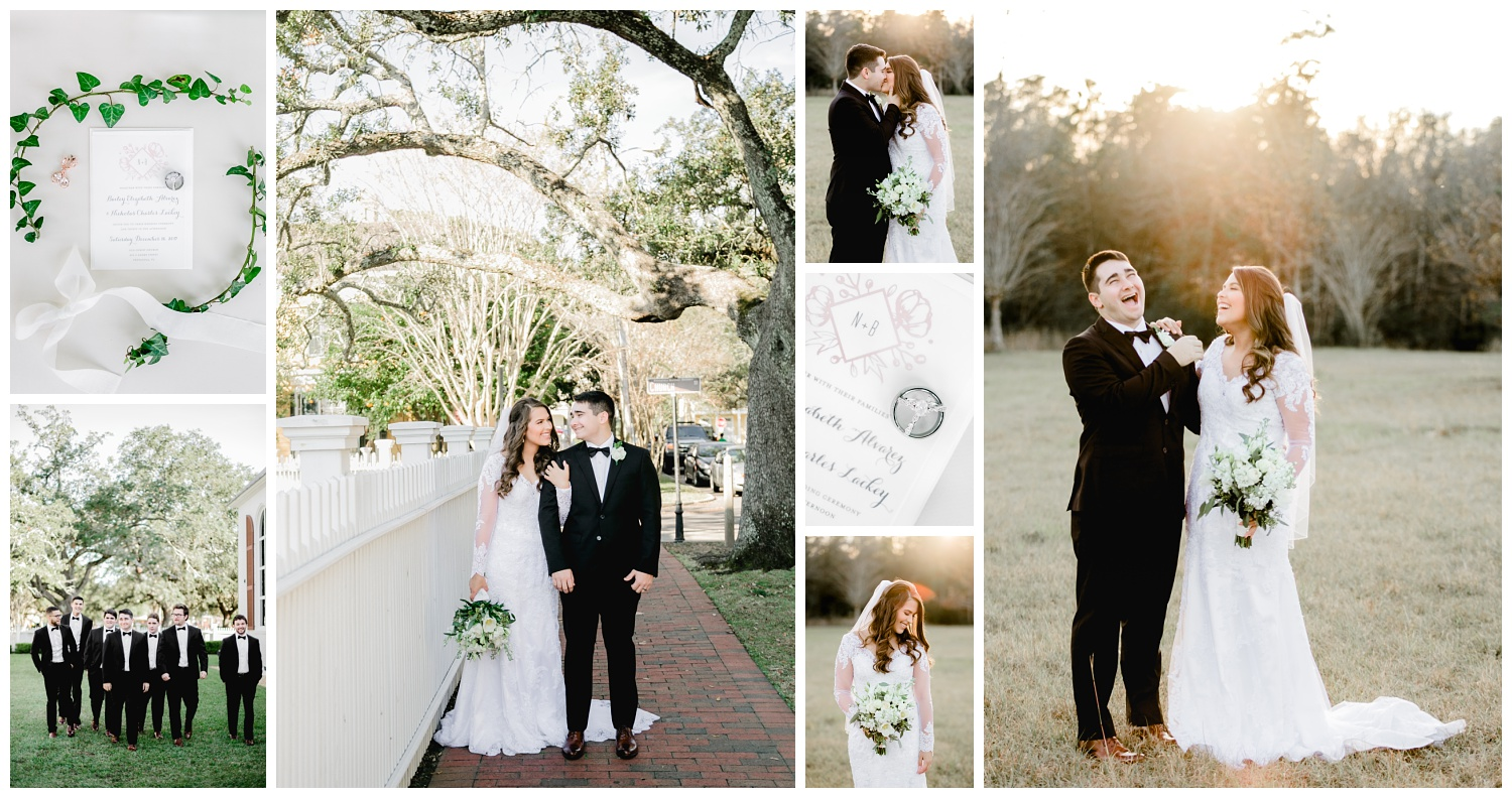 bailey and nick historic pensacola florida wedding photographer