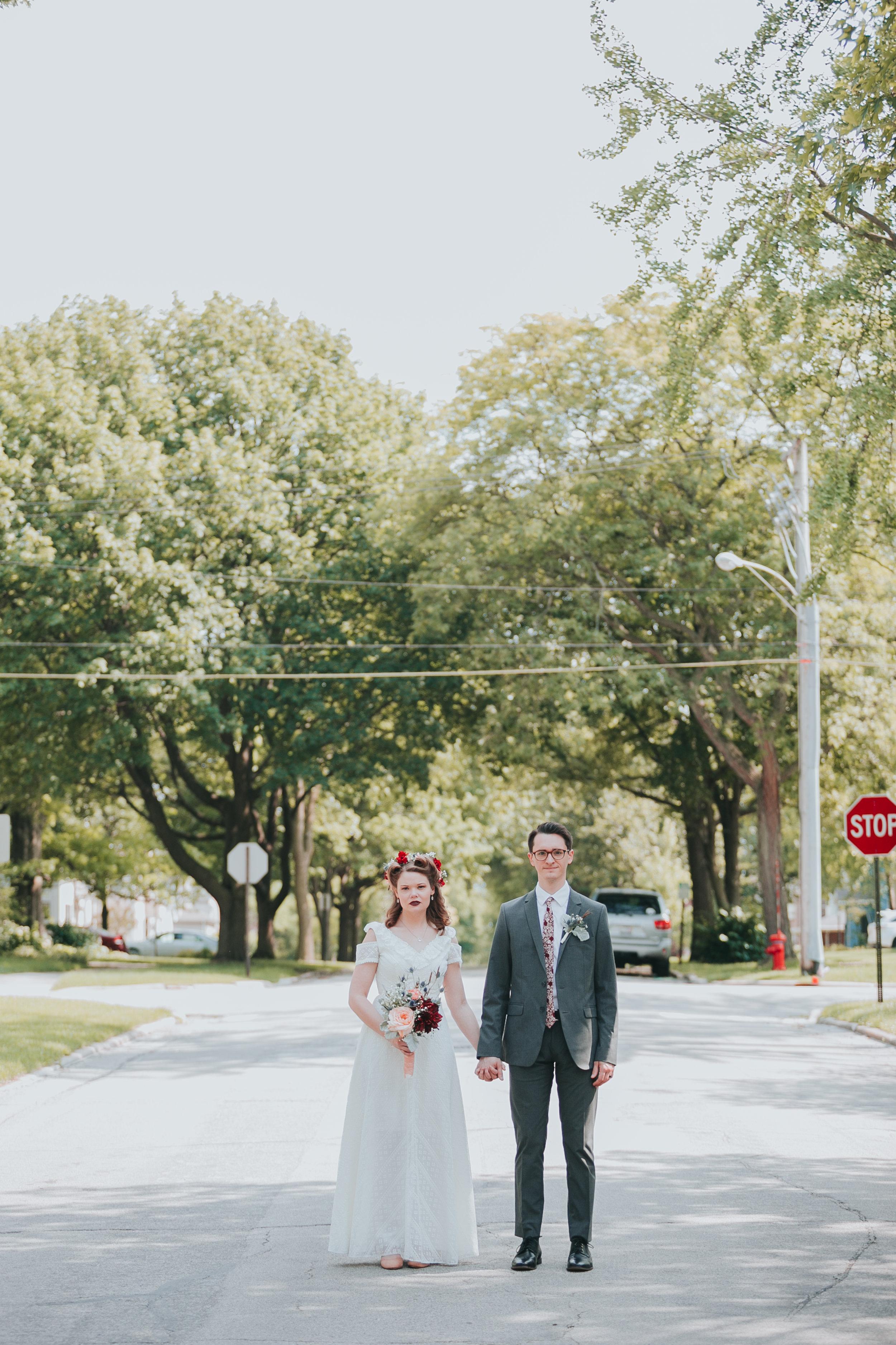 Chicago wedding photographer western springs illinois