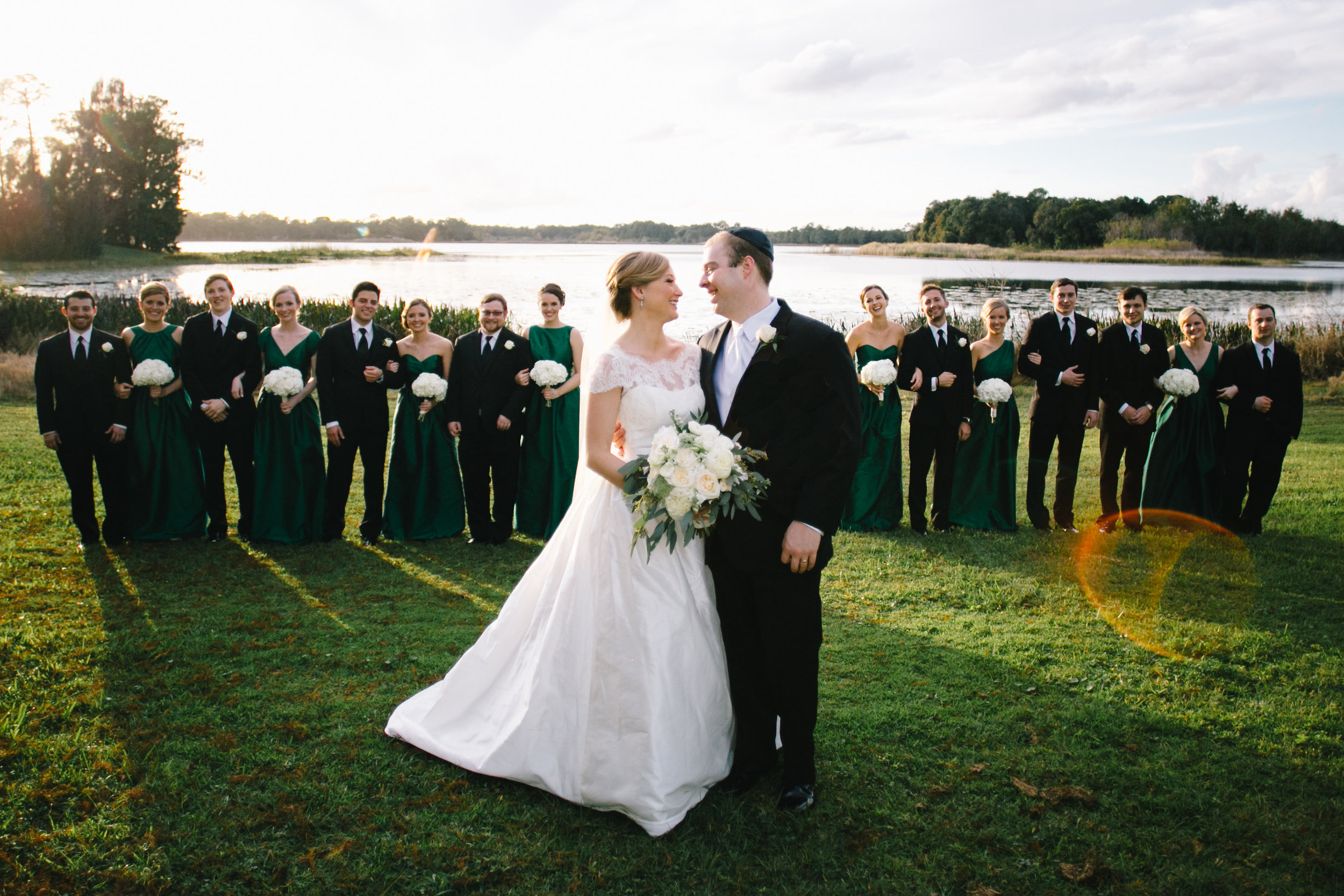 Bridal Party Lakeside Wedding Lake Mary Event Center