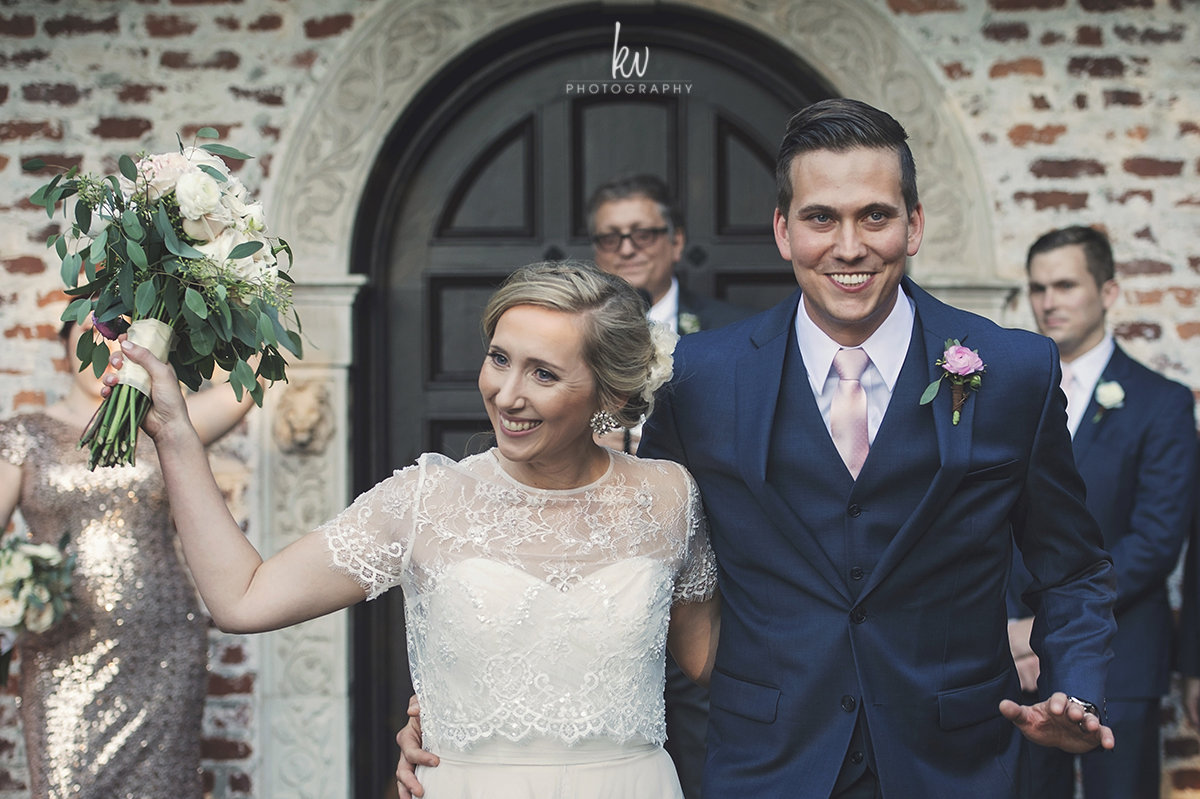 Happily married at Casa Feliz, Winter Park
