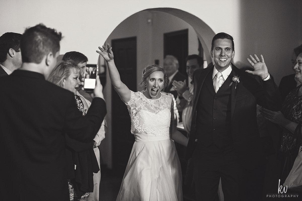 Let the wedding celebrations begin!