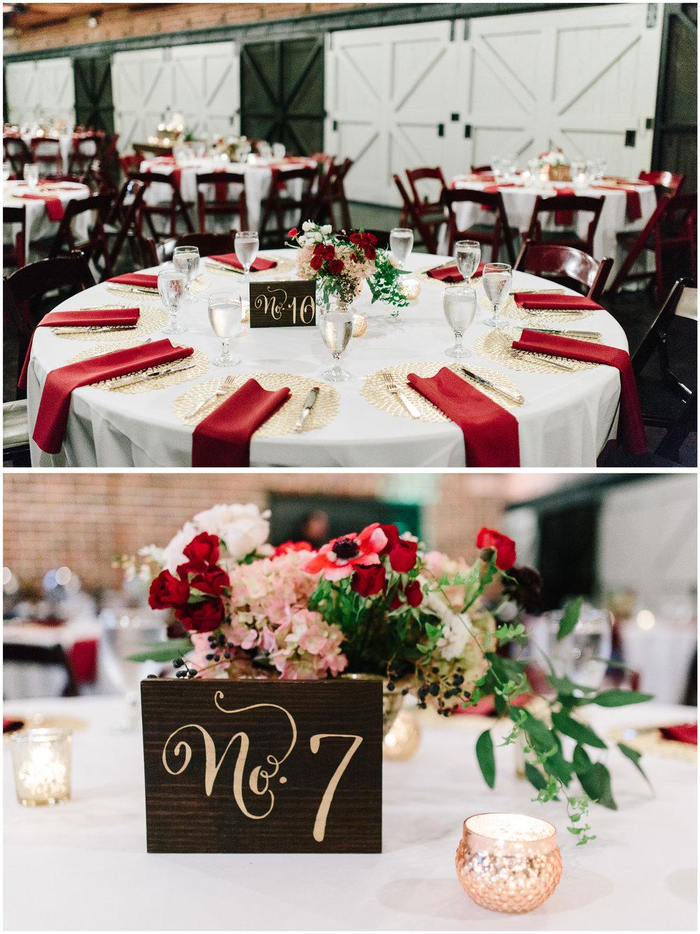 Winter Park Farmer's Market Wedding Reception