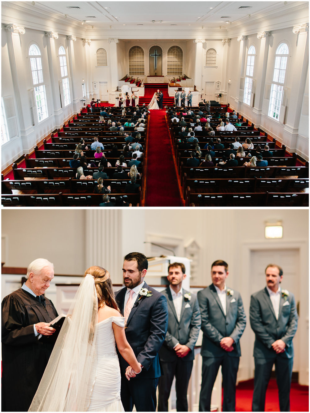 First Congregational Church of Winter Park Wedding Ceremony