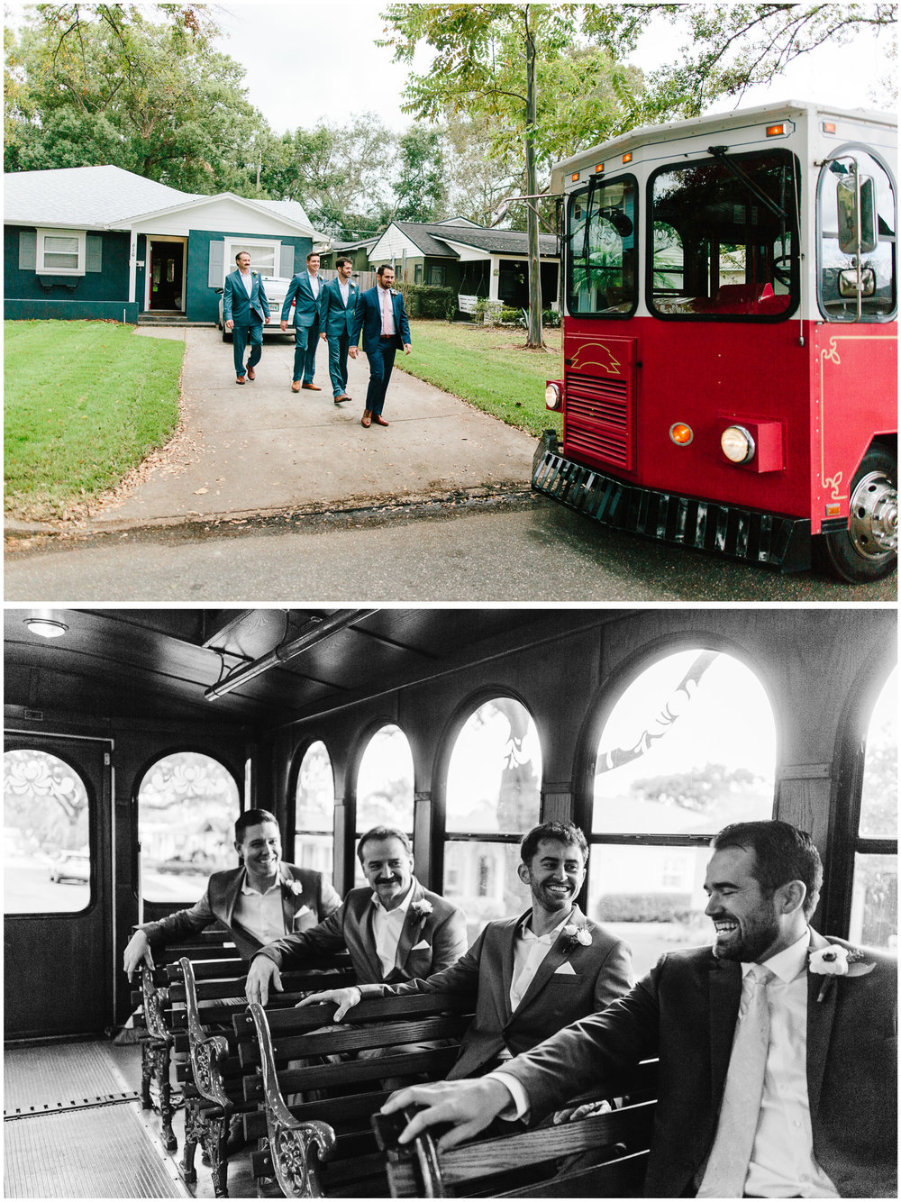 Trolleys: The BEST mode of transportation on wedding day