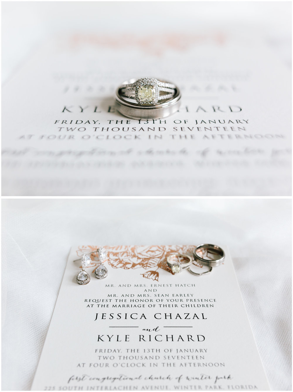 Weddings details of wedding bands