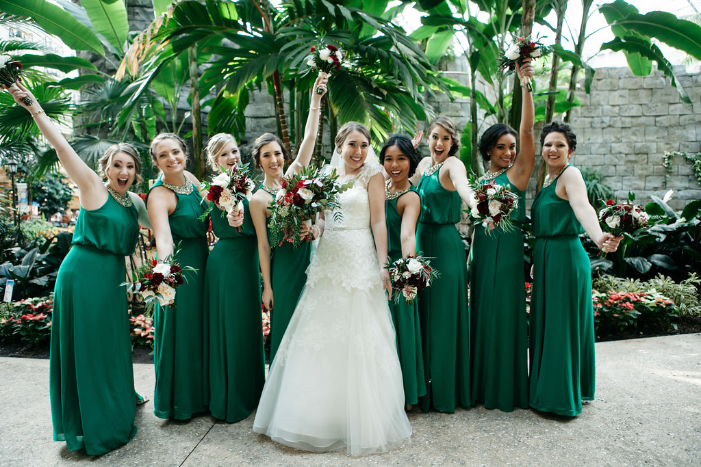 Savannah and her bridesmaids