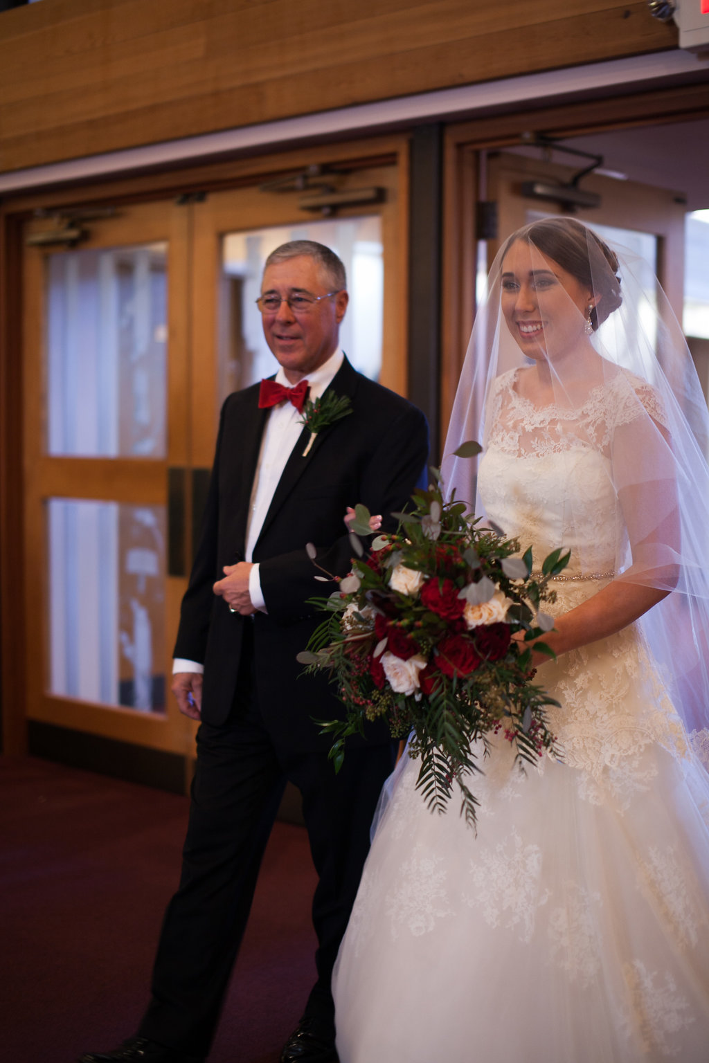 St. Luke's United Methodist Wedding Ceremony