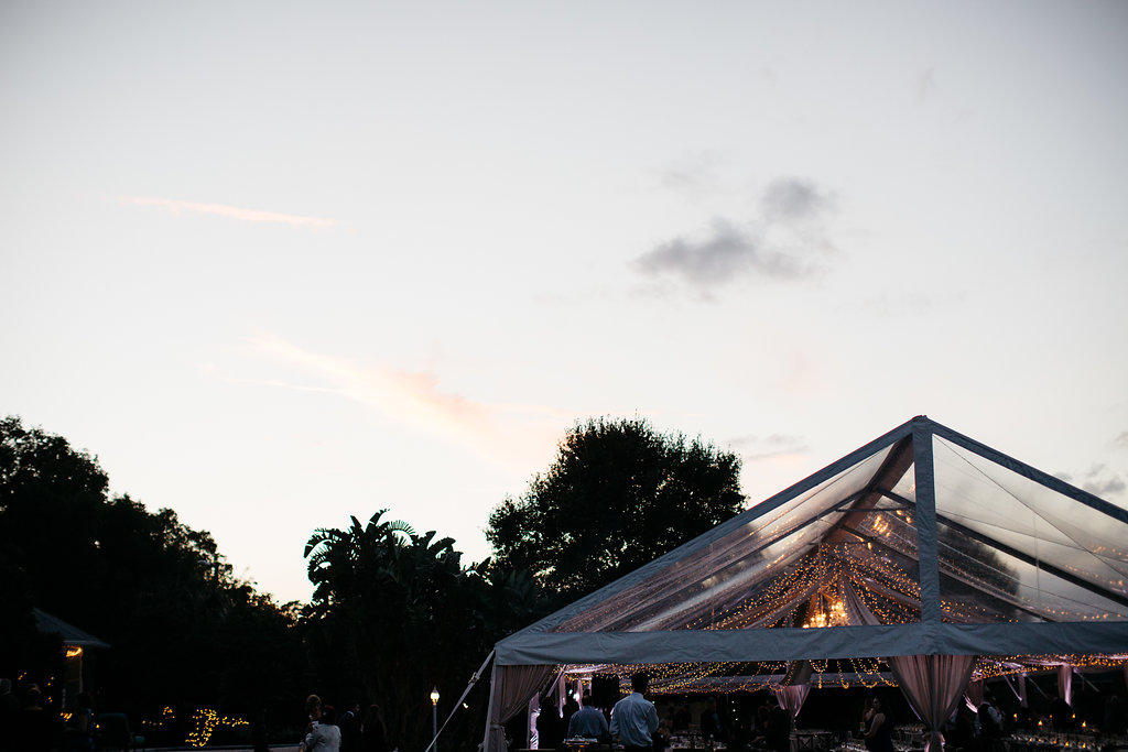 Clear tent from Rentaland Tents & Events