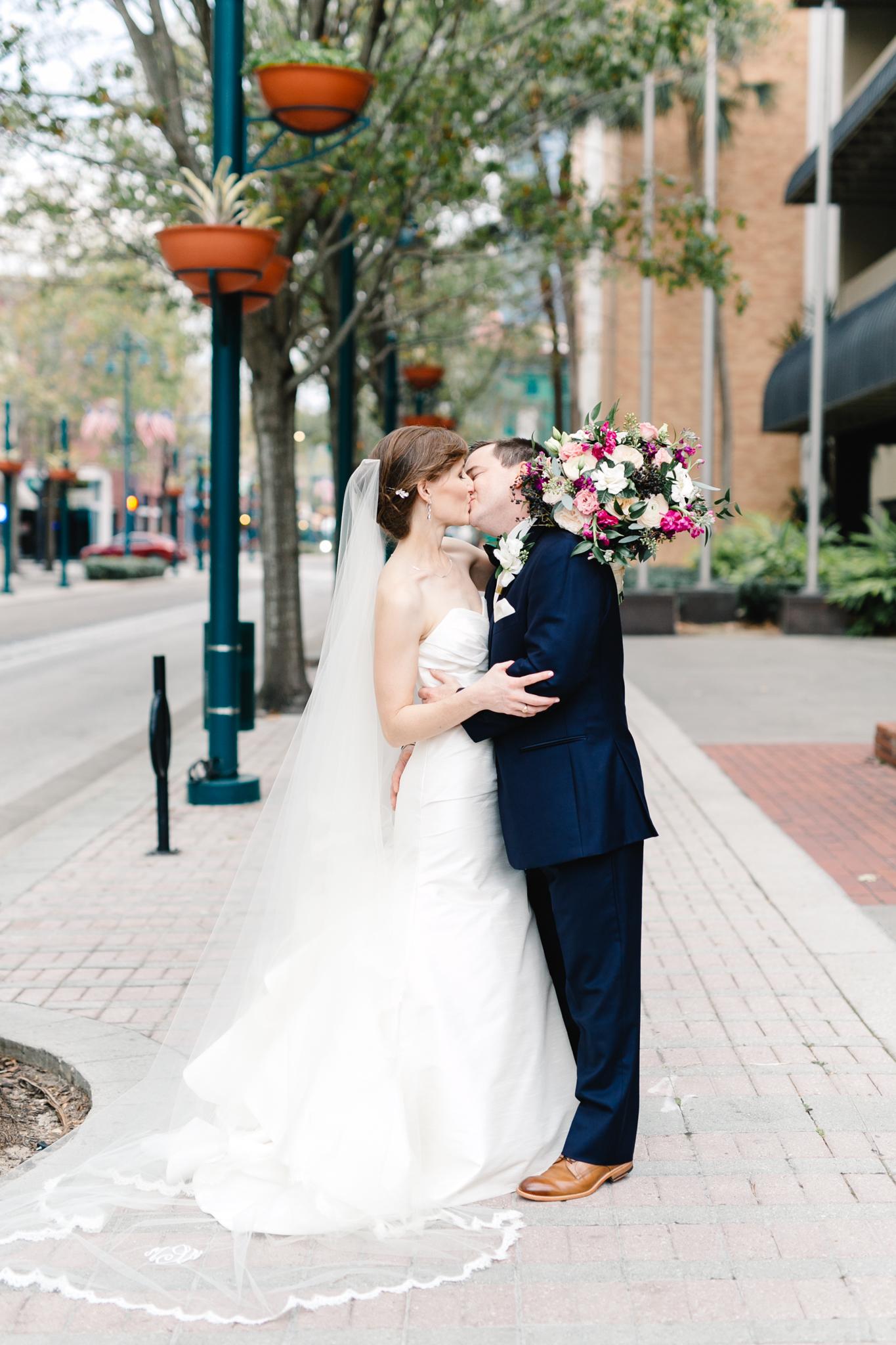 Trey and Meredith, Downtown Orlando Wedding