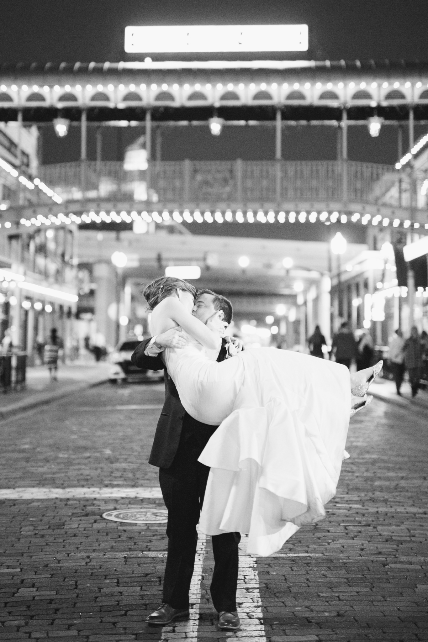 Grand exit by Church Street Station, Downtown Orlando Weddings