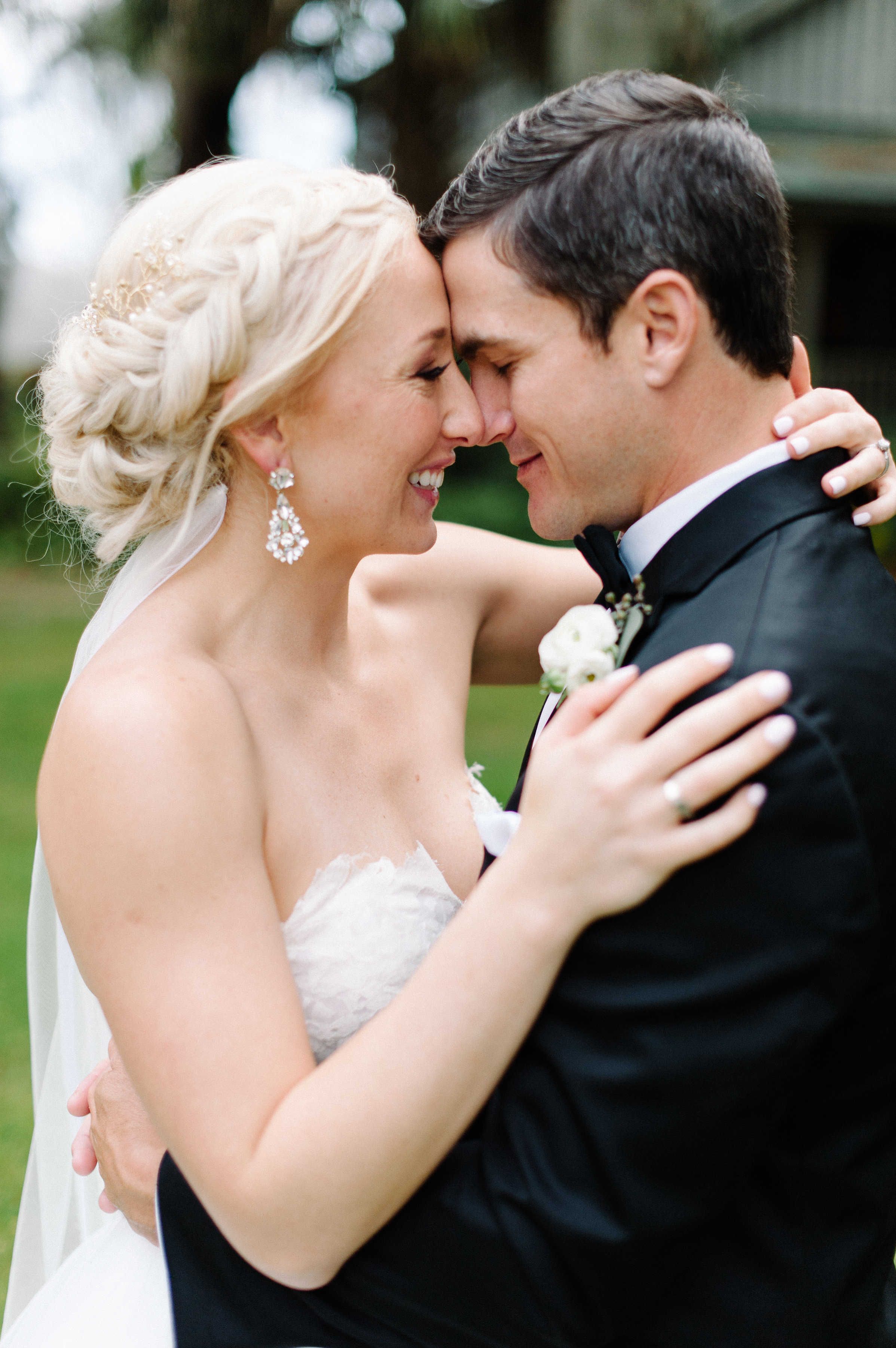 Sweet moments of married bliss