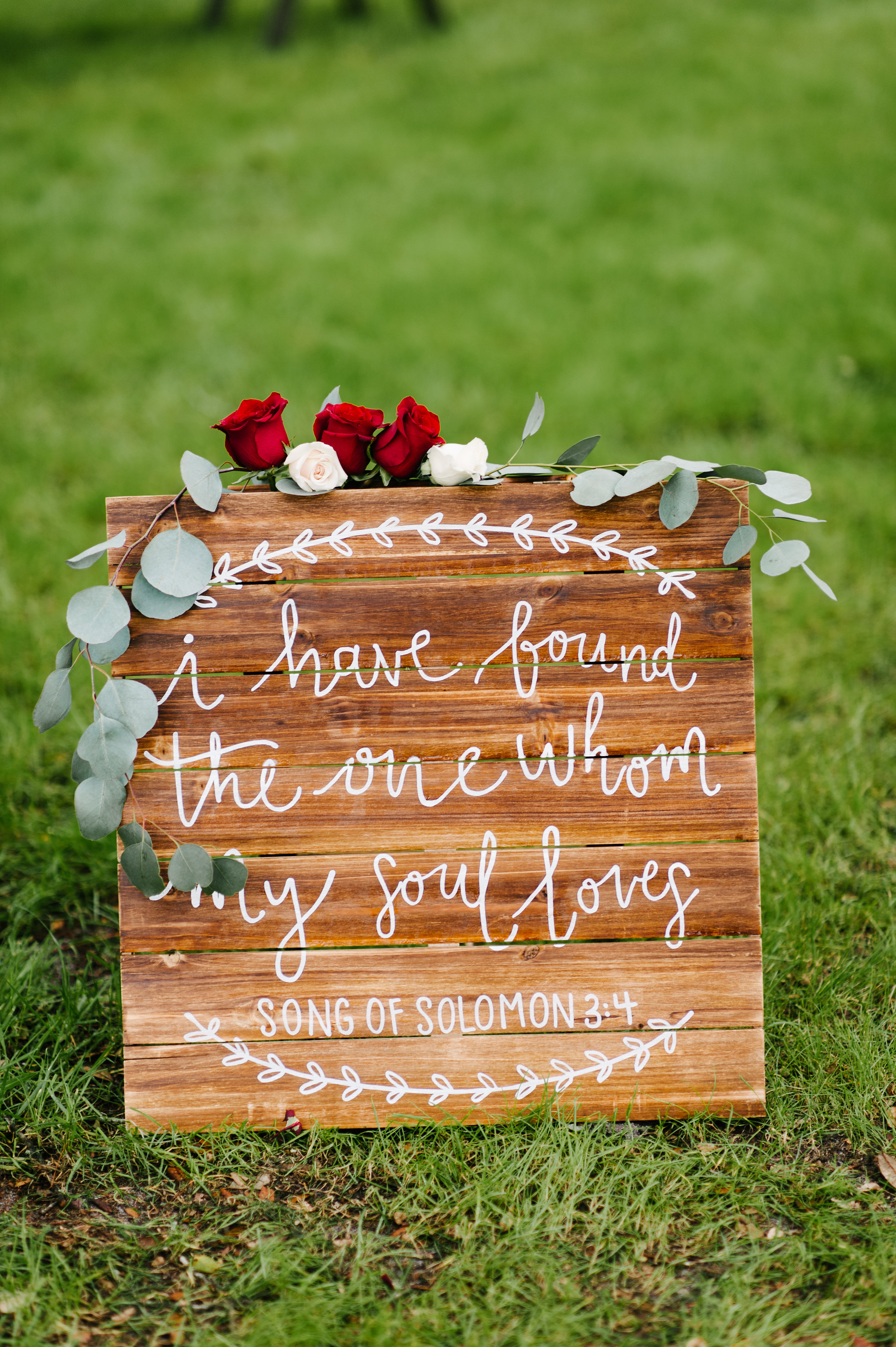 I have found the one whom my soul loves - Song of Solomon