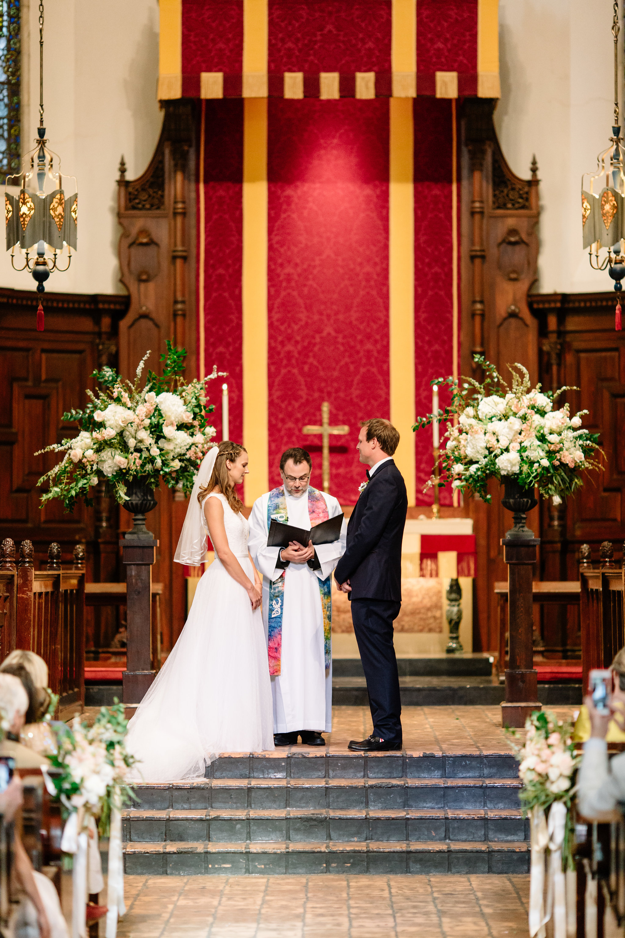 Knowles Memorial Chapel Wedding Ceremony