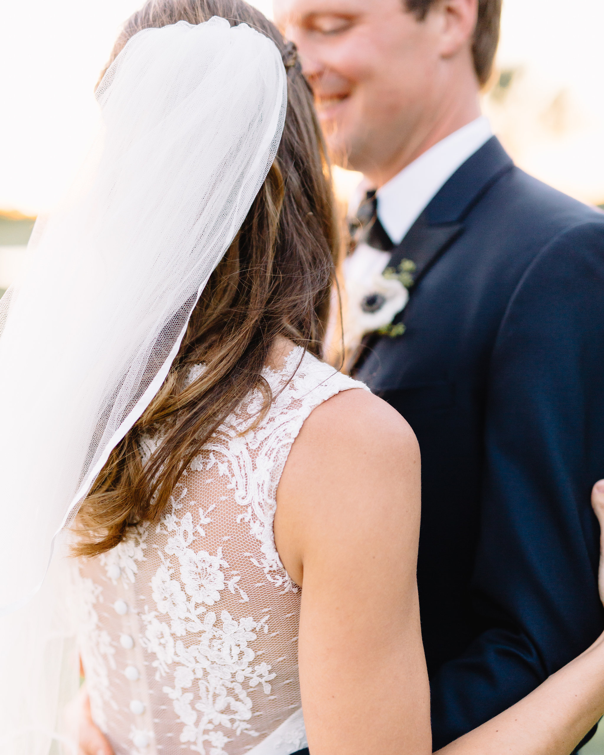Lace wedding gown, Winter Park Bride