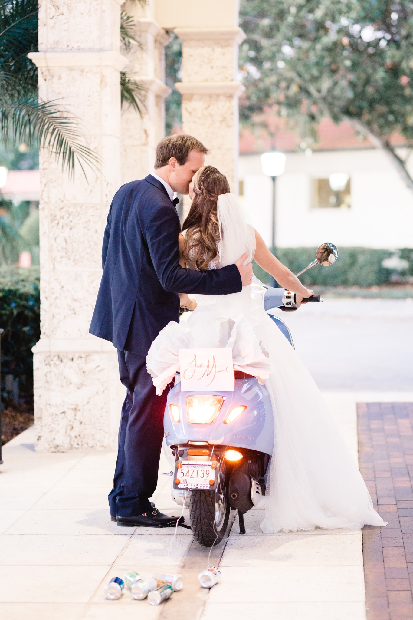 Vespa, the perfect wedding gift