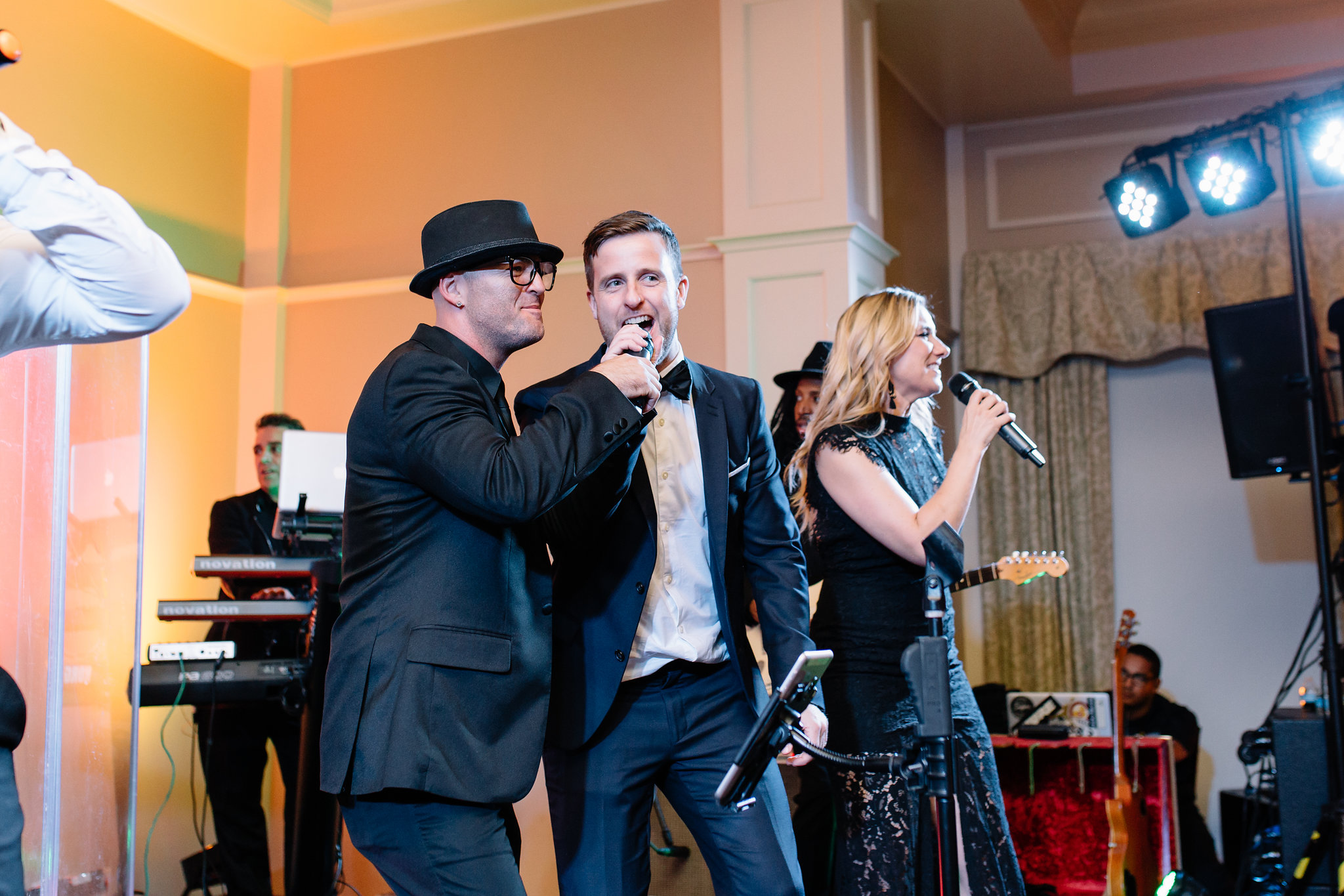 Reception entertainment by C'nergy, Interlachen Country Club Weddings