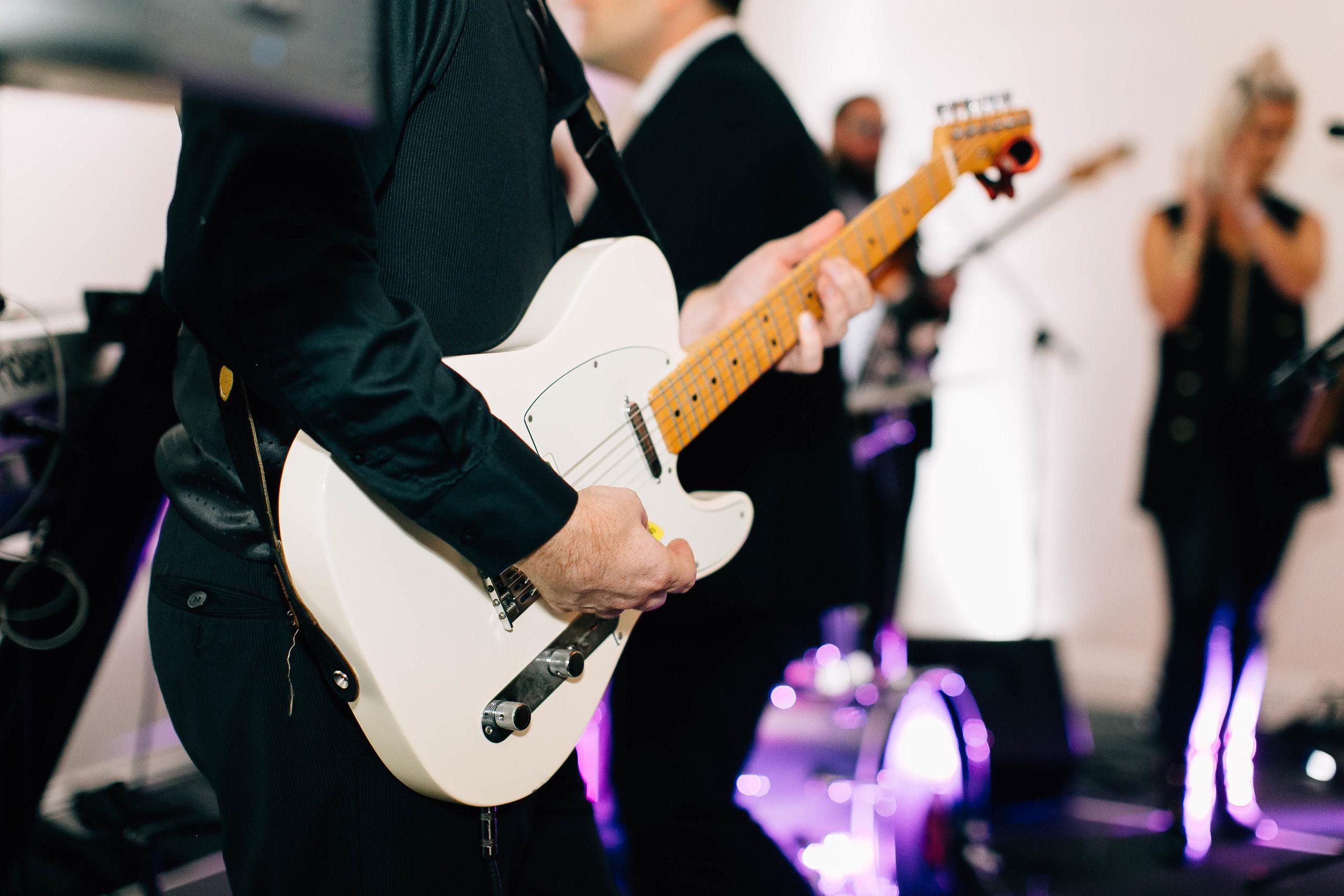 Bay Kings Band keeping everyone at the wedding on the dancefloor