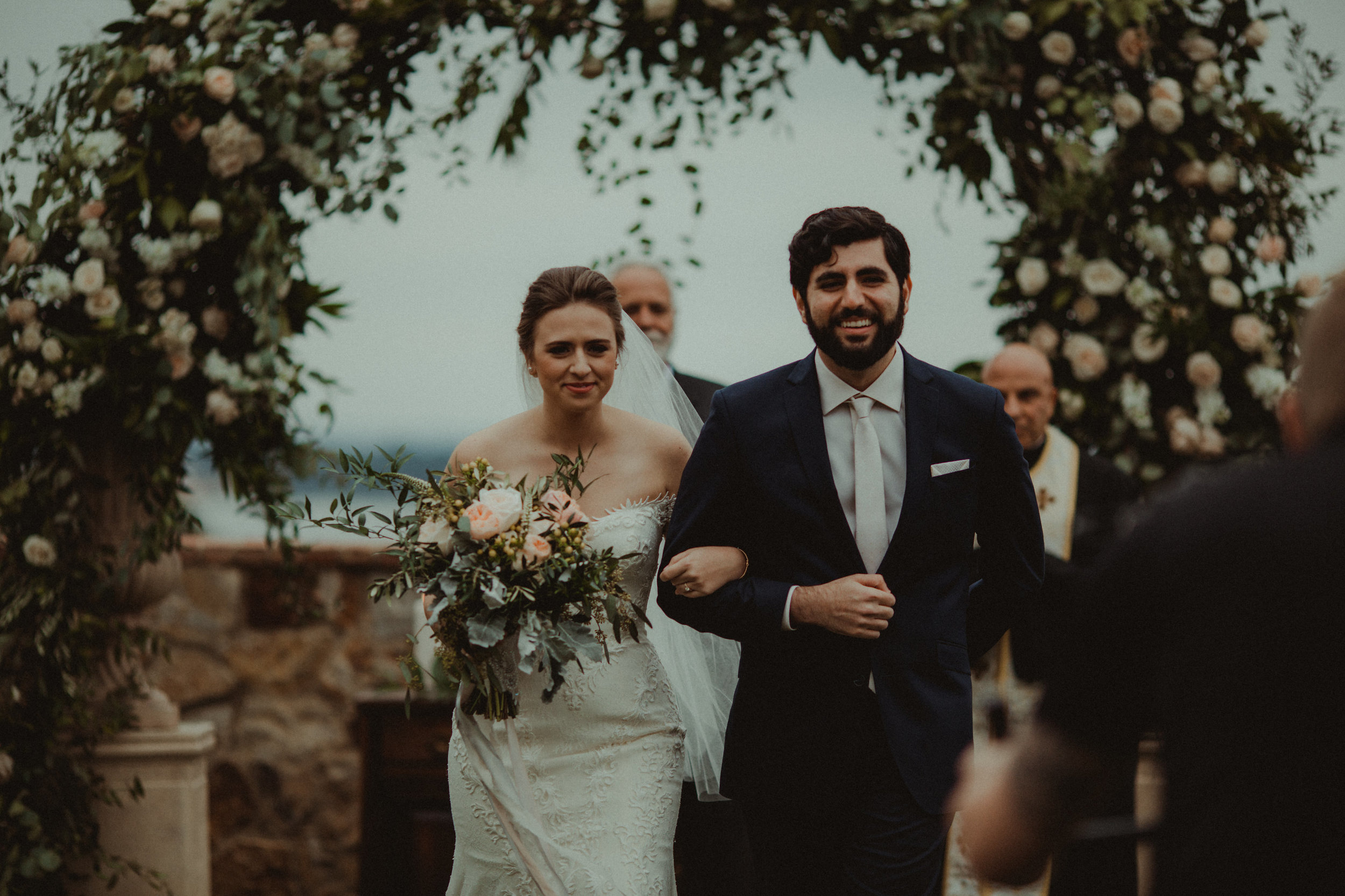 Happily married at Bella Collina