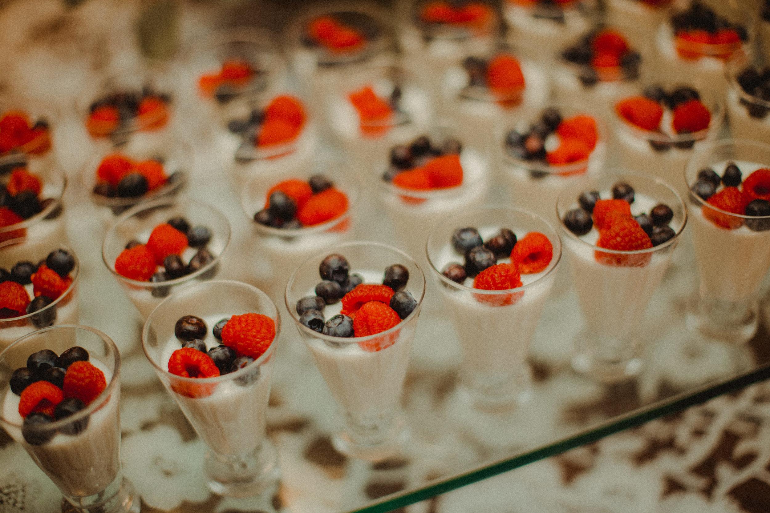 Raspberry & Blueberry sweet treat