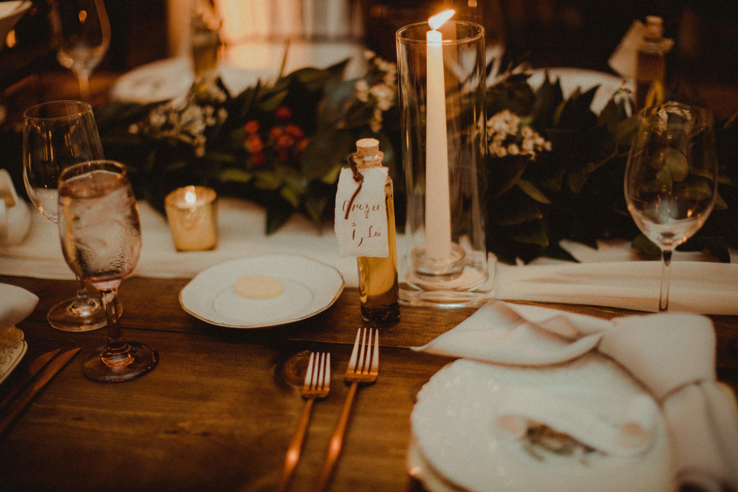 Bella Collina Ballroom Family Style Wedding Reception