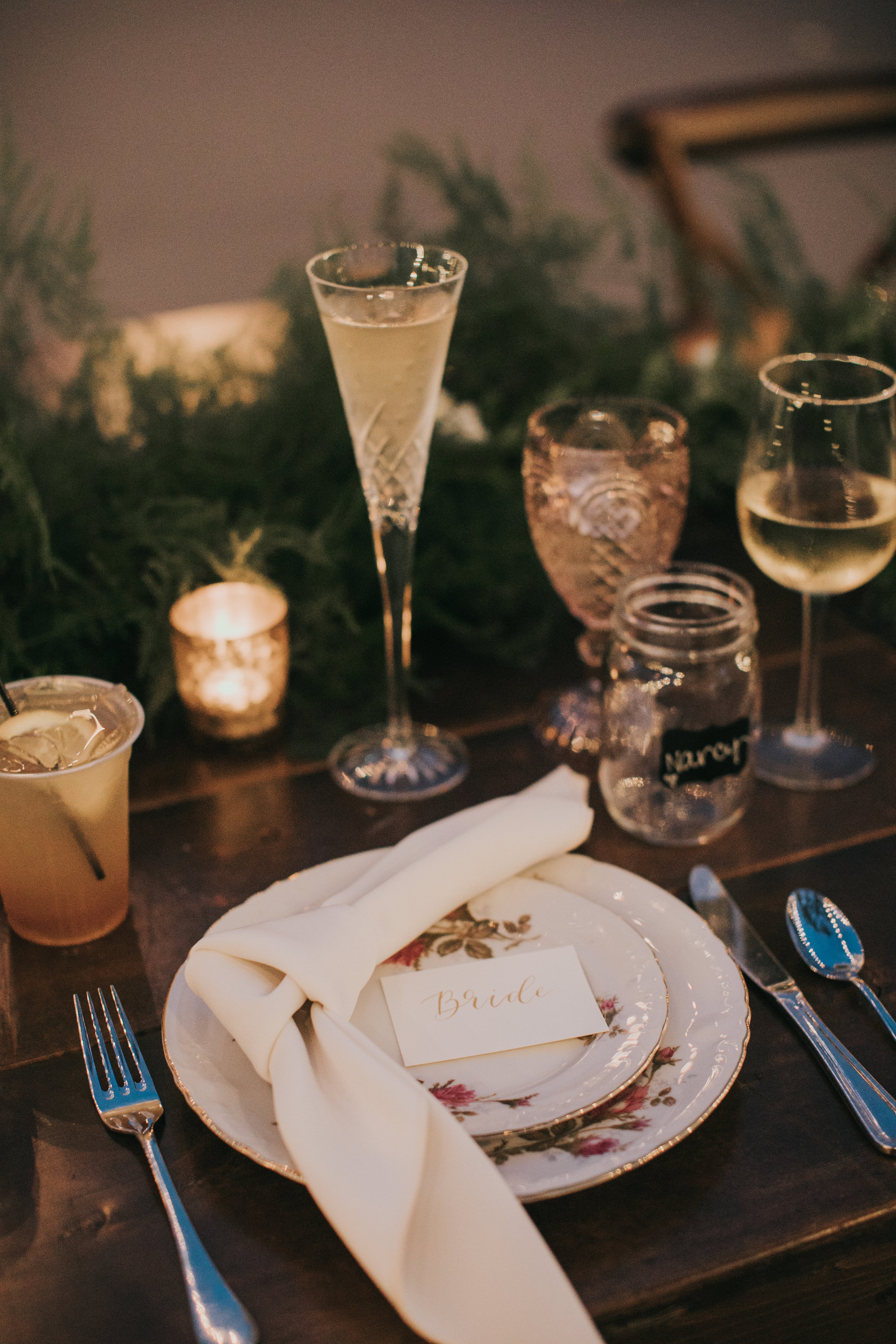 Specialty dishware for the bride and groom