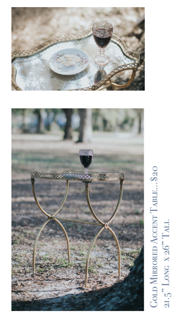 Gold Mirrored Accent Table $20.png
